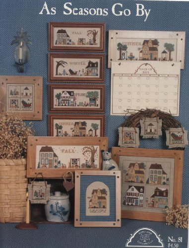 As Seasons Go By for Counted Cross Stitch, Homespun No. 81