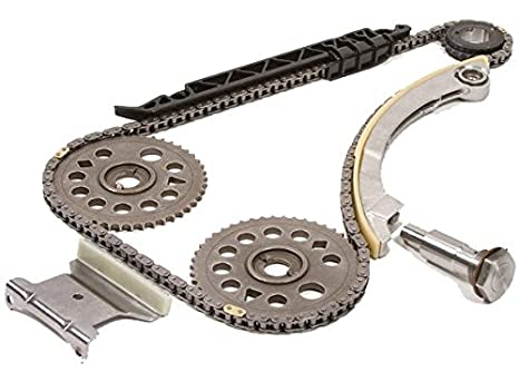 Ref Cloyes 9-4201S Multi-Piece Timing Kit for CHEVROLET Cavalier Malibu HHR 2.0 2.2L 2002-08 Cobalt 2005-07 Pontiac G5 Grand AM Saturn ION VUE SKY Replacement Timing Chain Kit