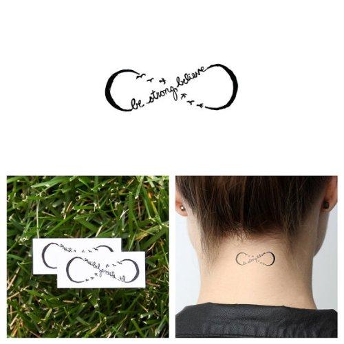Tattify Infinity Temporary Tattoo - Follow  - Other Styles