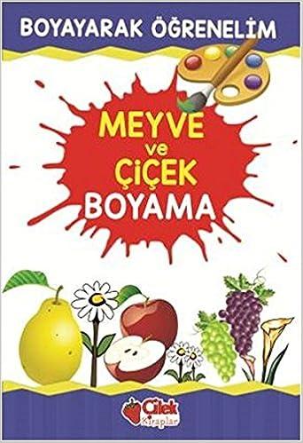 Meyve Ve Cicek Boyama 9789759189877 Amazoncom Books