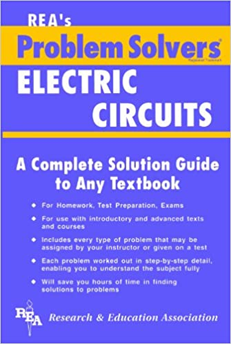 Electric circuits problem solver problem solvers solution guides electric circuits problem solver problem solvers solution guides revised subsequent edition kindle edition fandeluxe Gallery