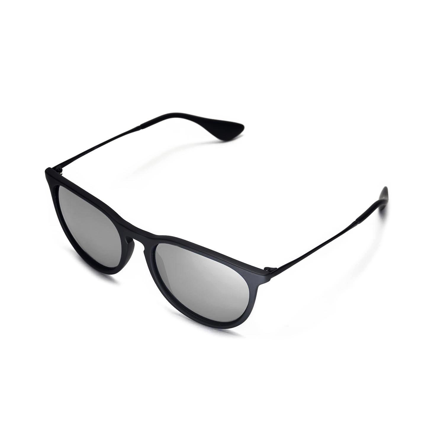 a9fa053c048 Walleva Replacement Lenses for Ray-Ban Erika RB4171 54mm- Multiple Options   (Titanium