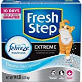 Fresh Step Extreme Odor Control Scented Scoopable Cat Litter, 14 lb Carton - 1 Pack