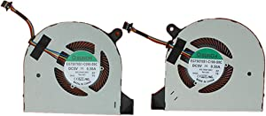 Laptop CPU Cooling Fan for Acer Aspire V Nitro VN7-592 VN7-592G(Left+Right,Original)