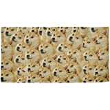 Doge Meme Funny All Over Beach Towel Multi Standard One Size