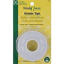 Dritz Quilting Wash Away Wonder Tape, 1/4 by 10-Yard
