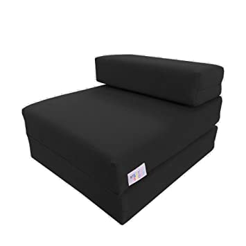My Layabout Kids Single Z Bed Memory Foam Guest Bedfold Out Spare