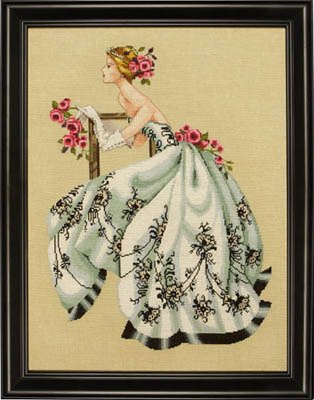 Free Counted Cross Stitch Charts (Mirabilia Counted Cross Stitch Chart Pattern - Sabrina)