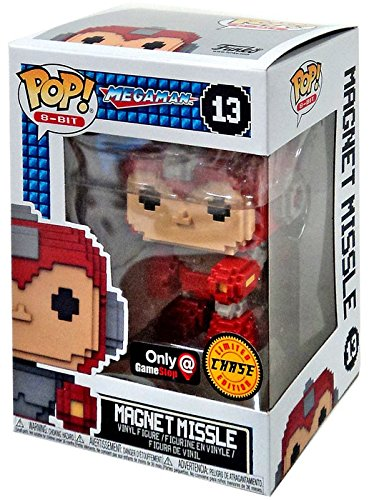 8-Bit #13 Mega Man Magnet Missile Chase Funko Pop Gamestop Exclusive