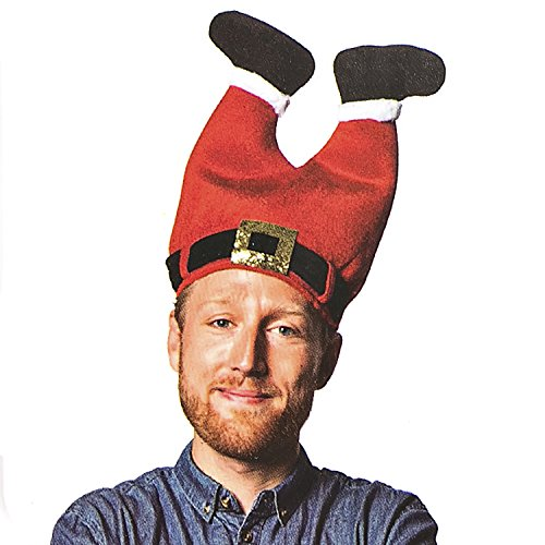 Funny Commercial Costume Ideas (DomeXmas Funny Christmas Hat, Pants Hat)