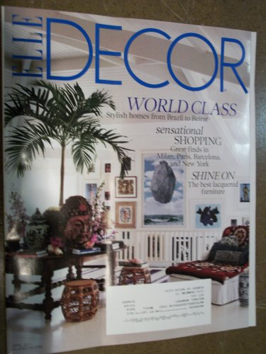 Elle Decor April 2011 World Class