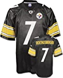 Youth Pittsburgh Steelers #7 Ben Roethlisberger Team Replica Jersey - XL 18-20