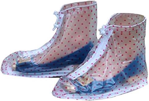 Plus Nao(プラスナオ) レインシューズ 完全防水 レインブーツカバー 折りたたみ長靴 ブーツカバー 携帯レインシューズ 雨具 雨よけ レディ