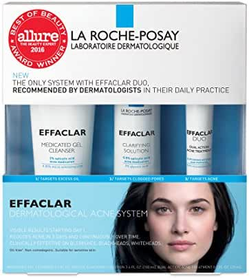 La Roche-Posay Effaclar Dermatological Acne Treatment System, 7.5 Fl. Oz.