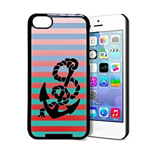 Anchor Stripes iPhone 5c Case - Fits iPhone 5c