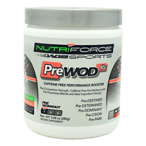 Nutriforce Sports PreWod Non-Stimulant Fruit Punch 20 Servings