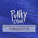 Punky Turquoise Semi Permanent Conditioning Hair
