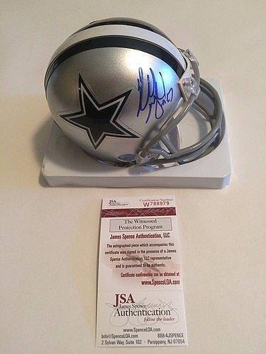 3ad793fc689 Amazon.com: Russell Maryland Signed Dallas Cowboys Mini Helmet - JSA ...