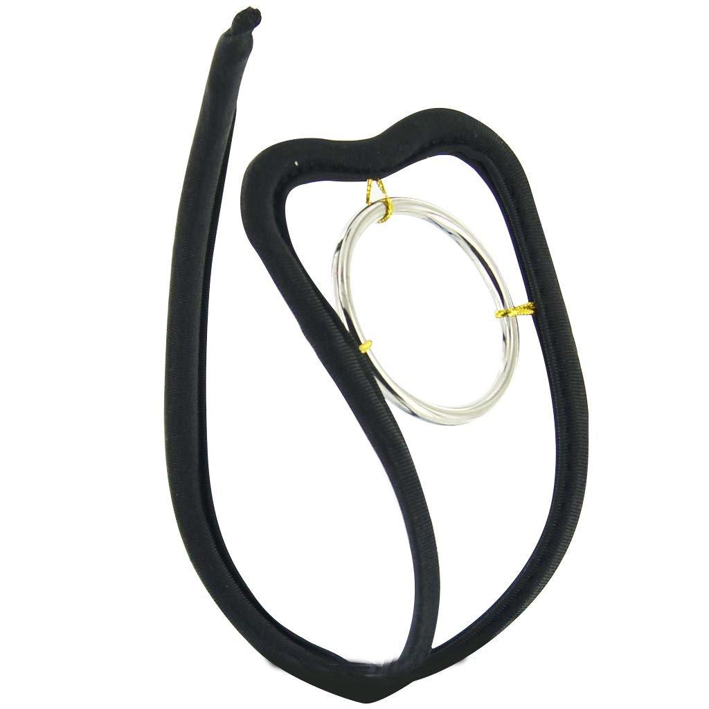 TOOGOO(R) Braga de la ropa interior de la correa de la C-secuencia de los hombres atractivos con el anillo 016807
