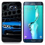 Blue Car Designed Hard Plastic Protective Case King Case For Samsung Galaxy S6 Edge Plus