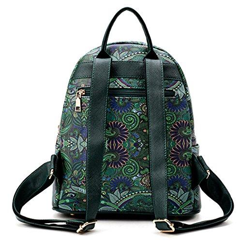 Summer classic Hardware Fashion priting Forest series backpacks Shoulder Bags Handbag women girl