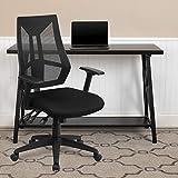 Flash Furniture High Back Black Mesh Multifunction