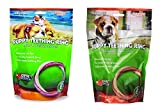 N-Bone Variety Puppy Teething Ring 6 Pack Pumpkin Flavor and 6 Pack Chicken Flavor For Sale