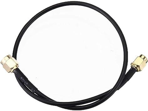 Componentes electrónicos manuales SMA macho a Cables Male ...
