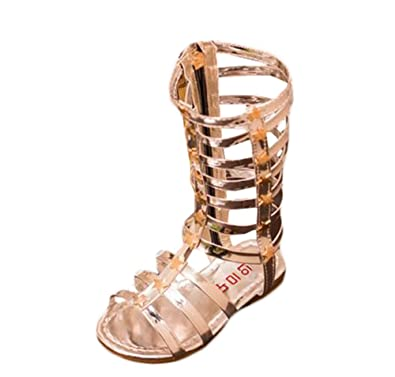 43ebe73cb5b cnWay Roman sandals girls shoes hollow weave high cool open-toed boots  women women cutouts