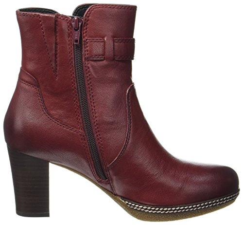 Gabor Shoes Comfort Sport, Bottes Femme Rouge (28 Dark-red Micro)