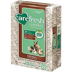 Carefresh Natural Premium Soft Pet Bedding, 60- Liter