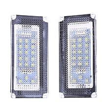 2pcs 18LED Car License Plate Lights for BMW MINI COOPER R50 R52 R53 3528SMD