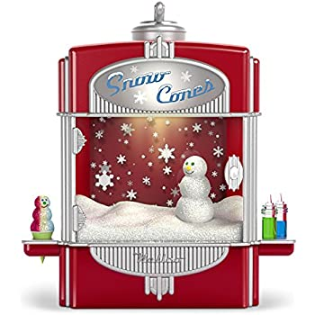 Hallmark Keepsake Christmas Ornament 2018 Year Dated, Syrupy Snow Cone  Surprise with Music, Light and Motion - Amazon.com: Hallmark Keepsake Christmas Ornament 2018 Year Dated