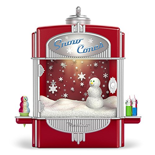 (Hallmark Keepsake Christmas Ornament 2018 Year Dated, Syrupy Snow Cone Surprise With Music, Light and Motion )
