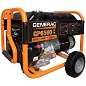 Generac 5946 GP Series 6500W Portable Generator