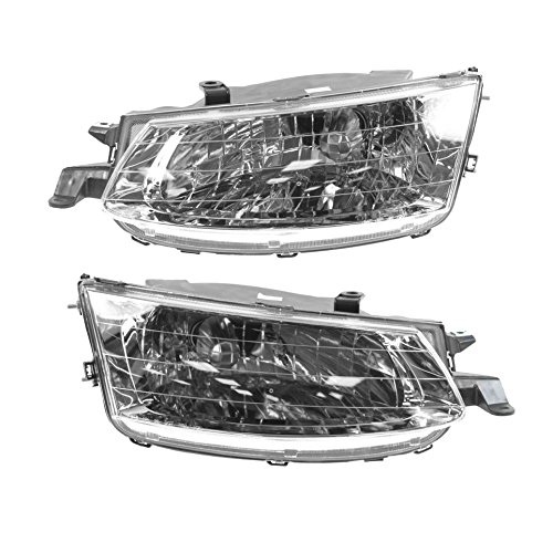 (Headlights Headlamps Left & Right Pair Set for 99-01 Toyota Solara)