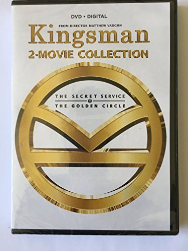 Kingsman 2-Movie Collection (Kingsman: The Secret Service / Kingsman: The Golden Circle)