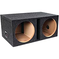 Atrend E10DSV Dual Speaker Enclosure 10 B Box Series Vented W/Shared Chamber Car Accessories