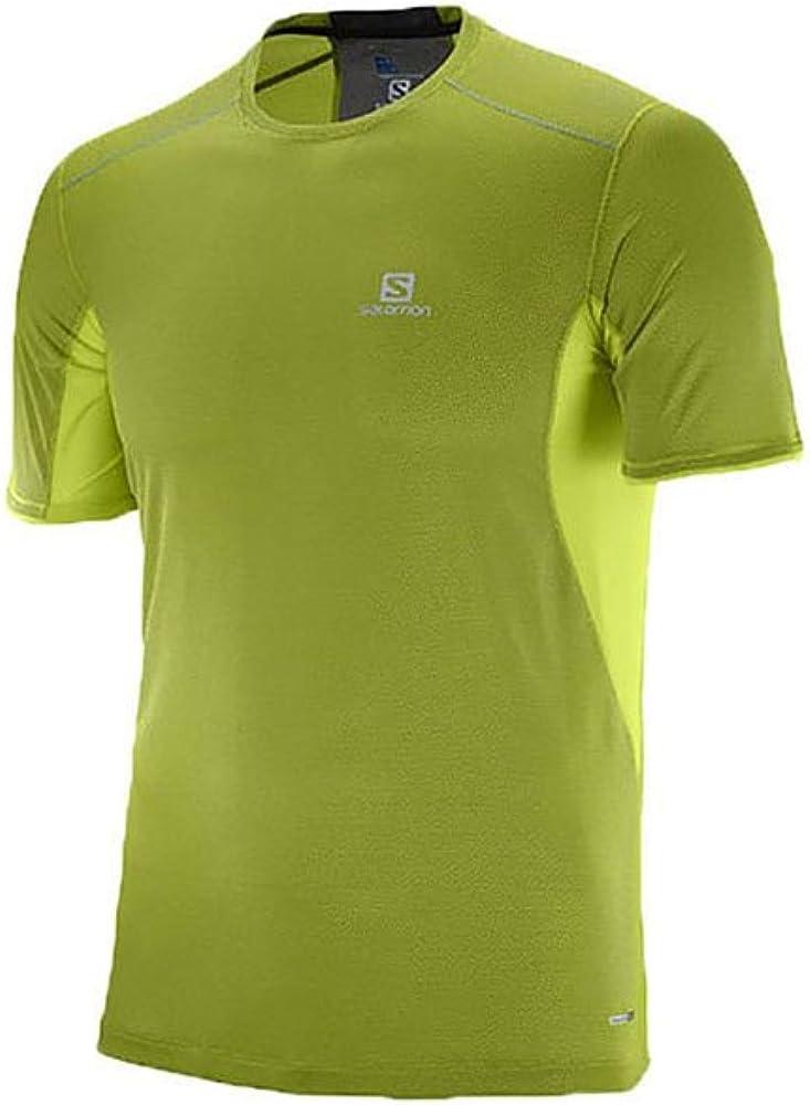 SALOMON Trail Runner SS M Camiseta de Manga Corta, Hombre: Amazon.es: Ropa y accesorios