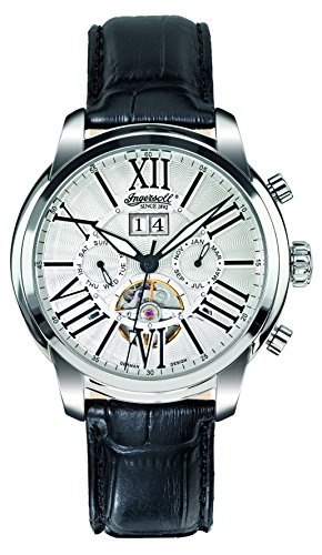 Ingersoll Men's IN1815SL Nashville Fine Automatic Timepiece Silver Dial Watch