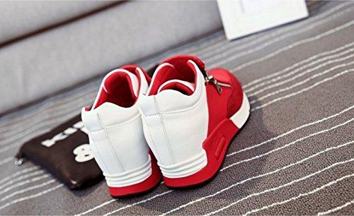 Korean Plate Comfortable Agam Shoes Thirty Thick Sports Shoes KHSKX Set five Women'S Single Bottom Casual Shoes Shoe Laziness Foot w7qxORX