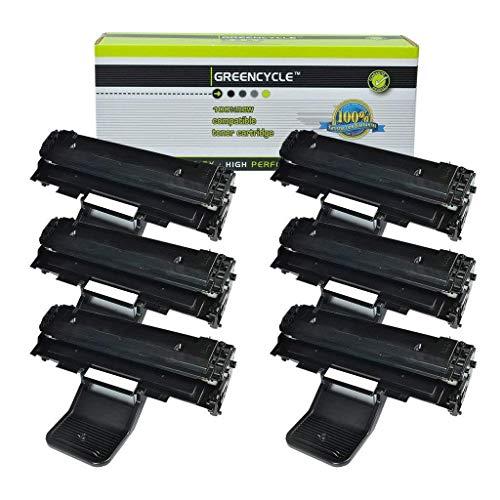 - GREENCYCLE High Yield Compatible SCX4521 Laser Toner Cartridge Replacement Samsung ML-1610 ML-1610R ML-1615 ML-1620 ML-1625 ML-2010 ML-2015 ML-2510 ML-2570 ML-2571N Printer (Black, 6 Pack)