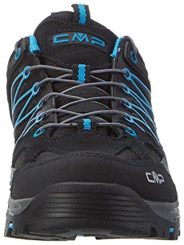 Rigel Rise High Nero CMP de Adulto Negro Zapatos Senderismo Unisex dwvn6S