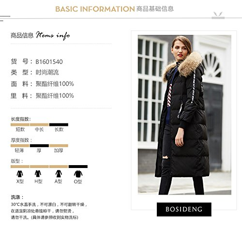 Generic Bosideng_street_personalized_letter_ commuter simple _tops_ down jacket Women longer_section_1601540 by Generic (Image #8)