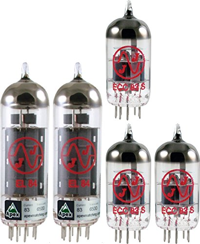 Tube Complement for Bugera V22, JJ brand by AmplifiedParts