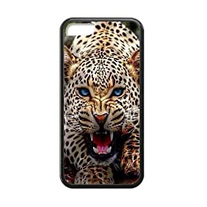 LJF phone case Roar Tiger Cool Awesome Fashion Rubber Case Cover for iphone 4/4s