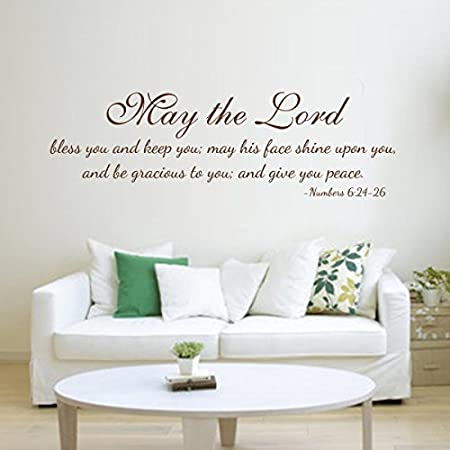Bible Verse Wall Decal Sticker Word PVC Removable Religious Quote Scripture DIY