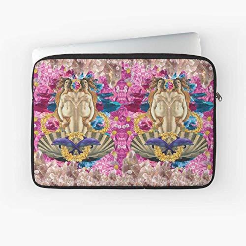 Pink Candy Crystal Venus Laptop Sleeve.