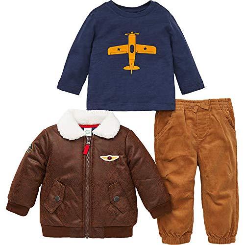Little Me Kids 3-Piece Set ~ Kids Clothing Back to School Sets ~ (18m, Aviator)