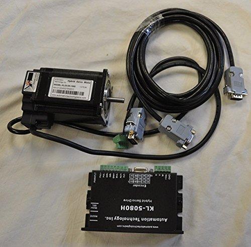 NEMA 23 Closed Loop Stepper Motor System-Hybrid Servo Kit, 32 bit DSP Based: 282 oz-in
